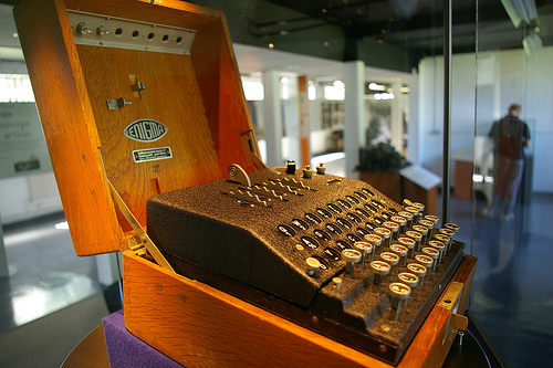 The Enigma Machine CC-BY-SA-20 Some rights reserved by Tim Gage
