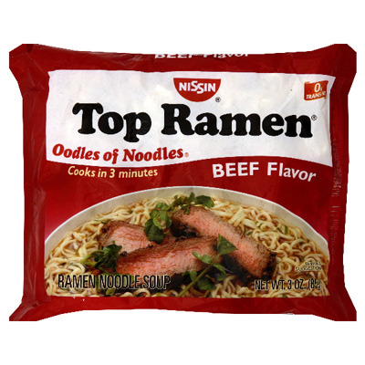 Ramen Noodles aka Top Ramen