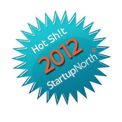 StartupNorth Hot Sh!t 2012 Badge