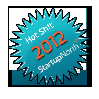 StartupNorth Hot Sh!t 2012 Badge