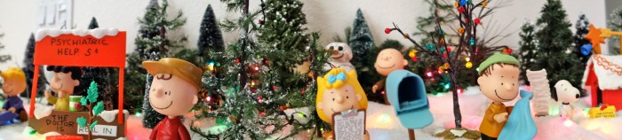 Peanuts Christmas Panorama by Kevin Dooley