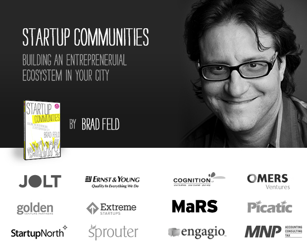 Oct 30, 2012 A Conversation with Brad Feld on Startup Communities