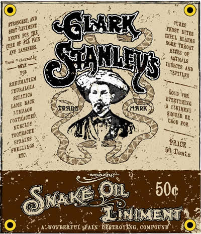 Clark Stanley's Snake Oil Linments